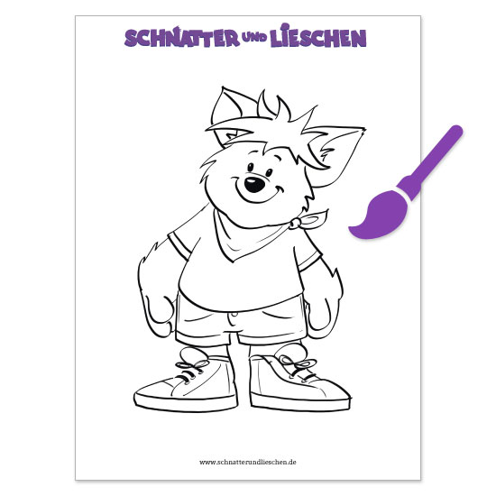 Leopold coloring book